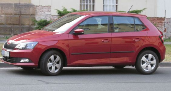 Příčníky Thule Škoda Fabia III