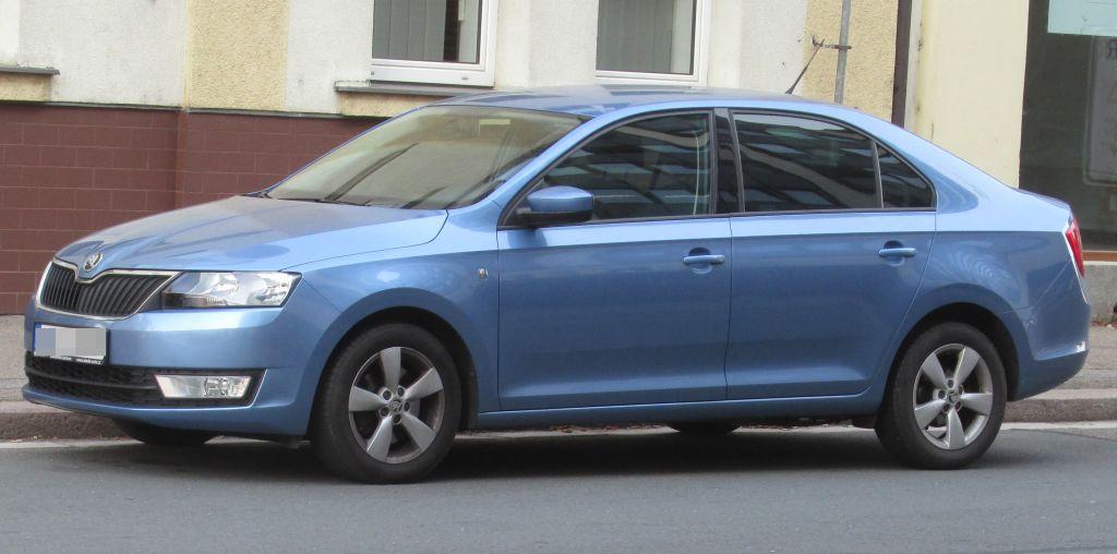 Příčníky Thule Škoda Rapid