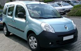 Příčníky Thule Renault Kangoo 2