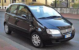Příčníky Thule Fiat Idea